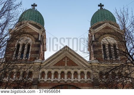 St. Joseph Cathedral (xikai Church) Roman Catholic Church Located In The Central Commercial District