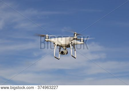 Shooting Photos And Videos Using A Copter.