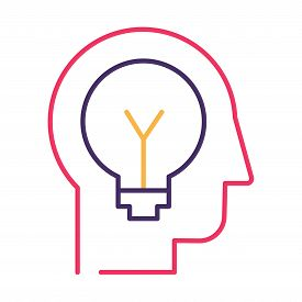 Idea Generation And Innovation Thin Line Vector Icon