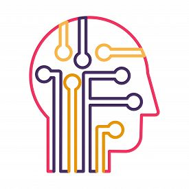 Intelligence, Knowledge And Education Thin Line Vector Icon