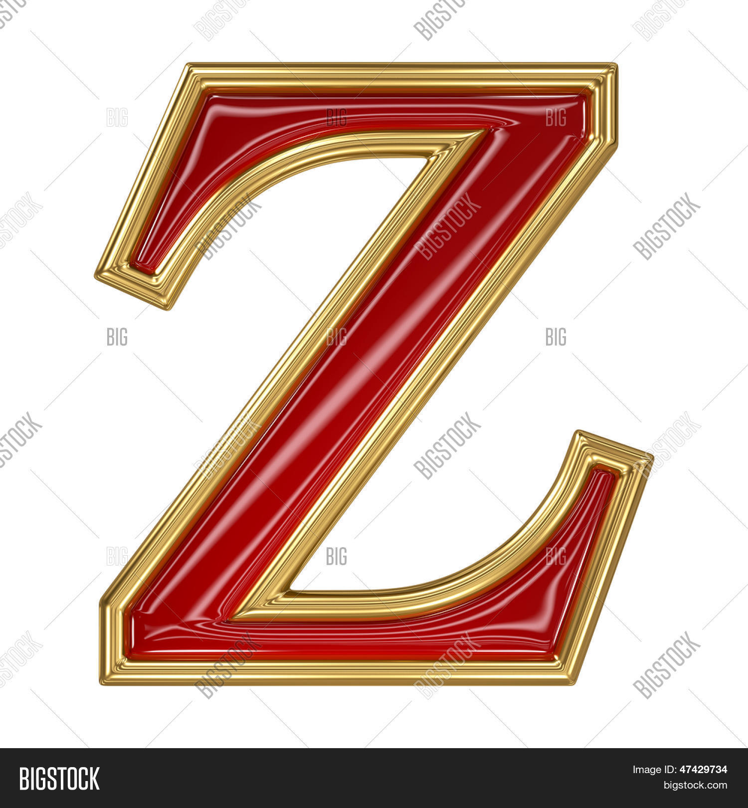 Ruby red golden image photo free trial bigstock ruby red with golden outline alphabet letter symbol z spiritdancerdesigns Image collections