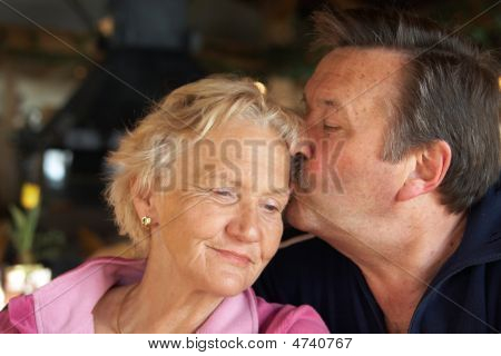 Cuddling Seniors
