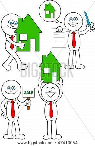 Set Real Estate Man
