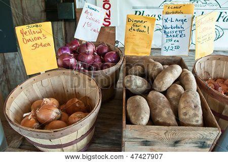 Roadside Produce Stand