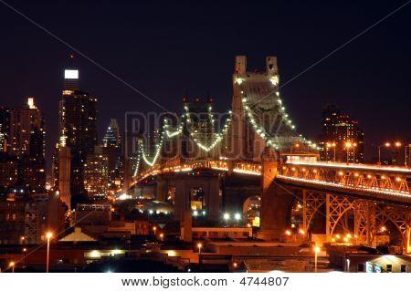 Night Qeensboro Bridge