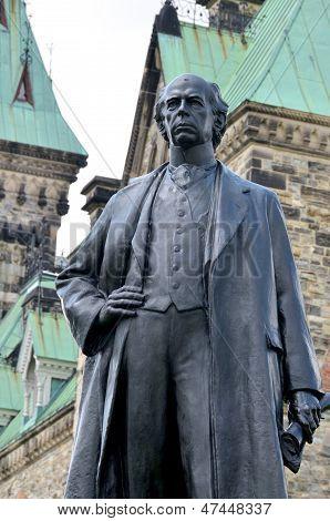 Bronze of Sir Wilfrid Laurier