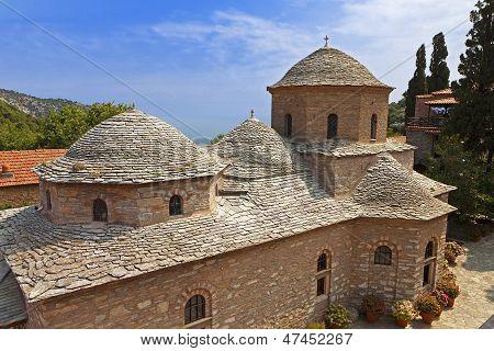 Monastery at Skiathos, Greece