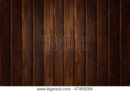Wood Texture Wall With Boards