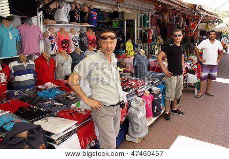 Market stall holders