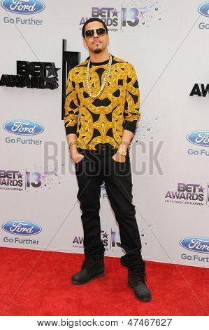 LOS ANGELES - JUN 30: J. Cole at the 2013 BET Awards at Nokia Theater L.A. Live on June 30, 2013 in Los Angeles, California