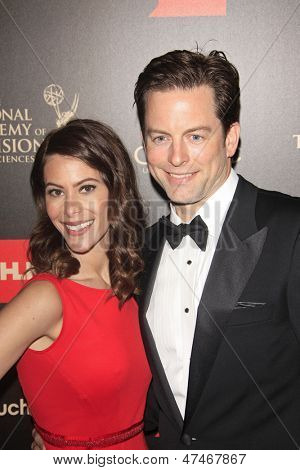 BEVERLY HILLS - JUN 16: Michael Muhney at the 40th Annual Daytime Emmy Awards at The Beverly Hilton Hotel on June 16, 2013 in Beverly Hills, California