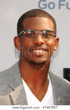 LOS ANGELES - JUN 30: Chris Paul at the 2013 BET Awards at Nokia Theater L.A. Live on June 30, 2013 in Los Angeles, California