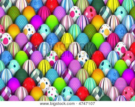 Easter Egg Background