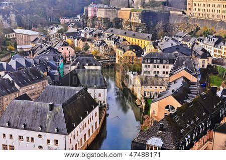 Old Town; Luxembourg, Luxembourg