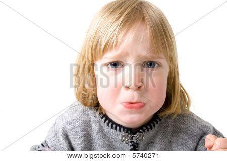 Child Angry Annoyed