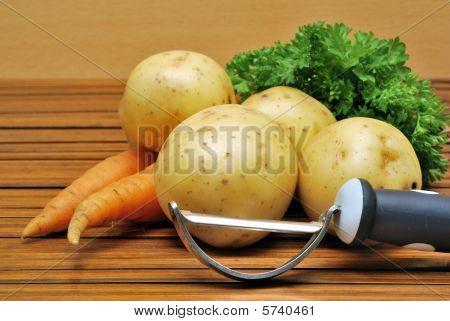 Potato And Carrot
