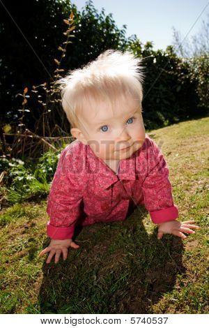 Baby Girl Garden Flowers
