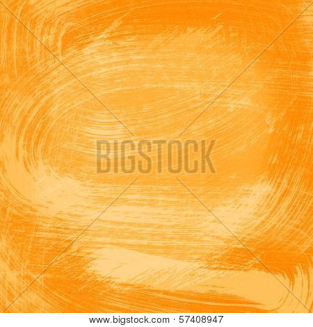 Orange Abstract Watercolor Texture Background