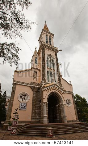 Cathedral Of Saint Philip (1905) In Ho Chi Minh City, Vietnam