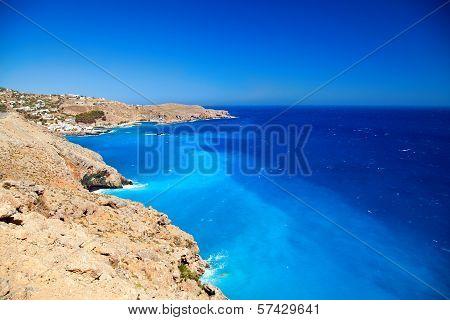 Lybian Sea Near Crete Shore