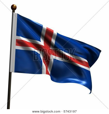 High Resolution Flag Of Iceland