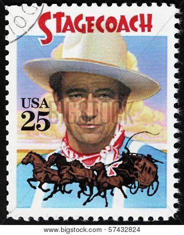 John Wayne Stamp