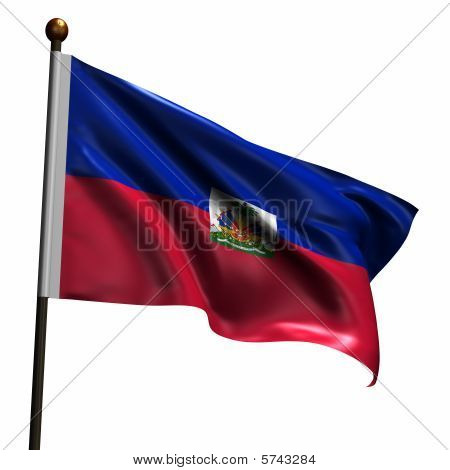 High Resolution Flag Of Haiti
