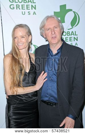 Suzy Amis and James Cameron at the 7th Annual Global Green USA's Pre-Oscar Party, Avalon, Hollywood, CA. 03-03-10