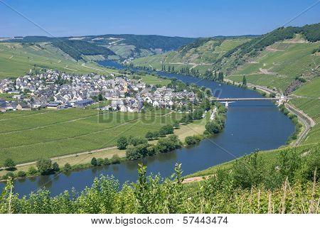 Trittenheim, Mosel Valley, Germany