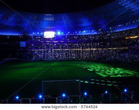 Night Football Stadium