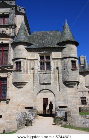 Chateau Entrance With