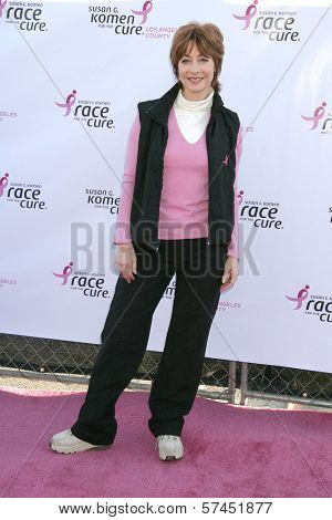 Sharon Lawrence  at the 14th Annual Susan G. Komen LA County Race for the Cure, Dodger Stadium, Los Angeles, CA. 03-14-10