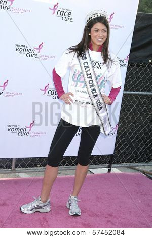 Nicole Johnson at the 14th Annual Susan G. Komen LA County Race for the Cure, Dodger Stadium, Los Angeles, CA. 03-14-10