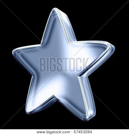 Ice Blue Star