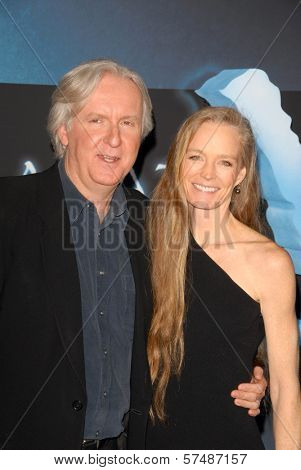James Cameron and Suzy Amis  at the Los Angeles Premiere of 'Avatar,' Chinese Theater, Hollywood, CA. 12-16-09