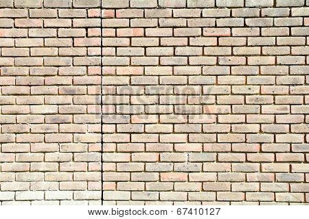 A Brick wall in close up - background
