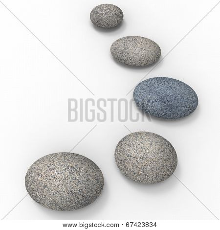 Spa Stones Means Love Not War And Balance