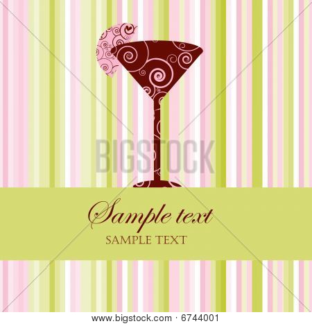Drink Menu Or Party Invitation