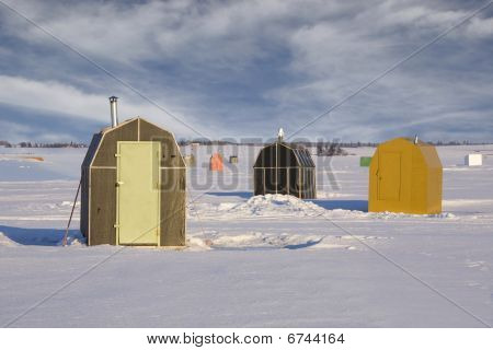Ice Fishing Shacks