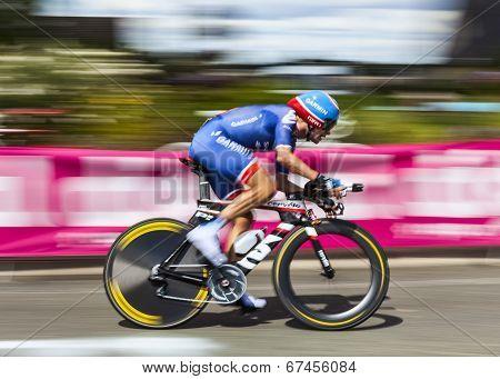 The Cyclist David Zabriskie