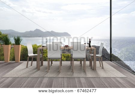 seaside modern interior