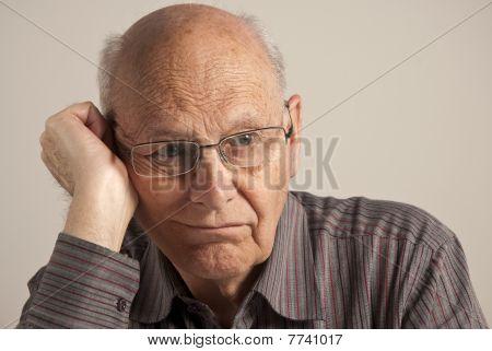 Bored Senior Man