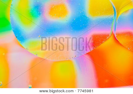 Abstract  Colorful Bubbles