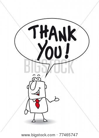 Thank you very much. Joe the businessman says thank you