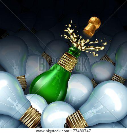 Happy New Year Idea
