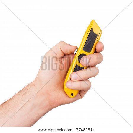 Utility Knife Isolated
