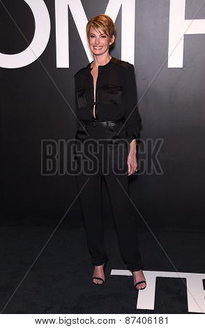 LOS ANGELES - FEB 20:  Faith Hill arrives to the Tom Ford Autumn/Winter 2015 Womenswear Collection Presentation  on February 20, 2015 in Hollywood, CA