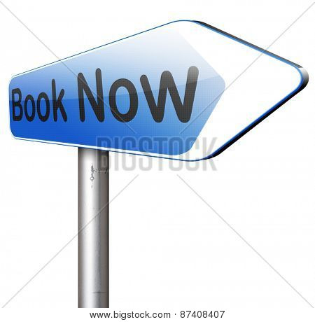 online ticket reservation or book ing, book here and now
