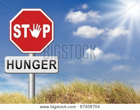 stop hunger suffering malnutrition starvation and famine caused by food scarcity undernourished bad harvest