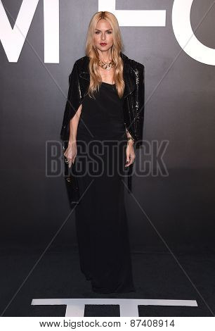 LOS ANGELES - FEB 20:  Rachel Zoe arrives to the Tom Ford Autumn/Winter 2015 Womenswear Collection Presentation  on February 20, 2015 in Hollywood, CA